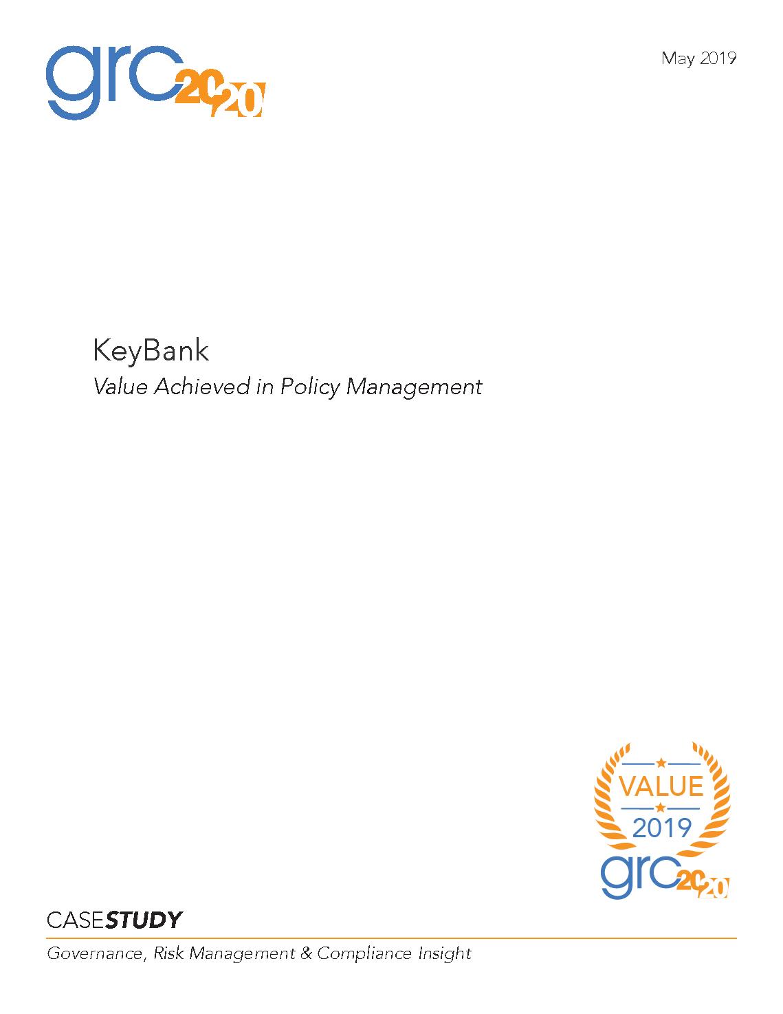 KeyBank – GRC 20/20 Research, LLC