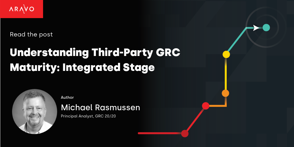 Understanding Third Party GRC Maturity: Integrated Stage
