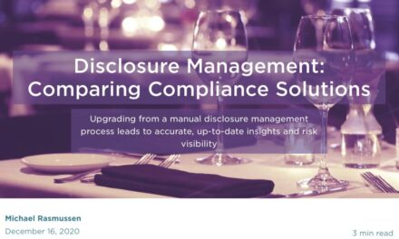 Disclosure Management: Comparing Compliance Solutions