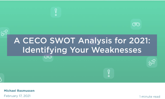 A CECO SWOT Analysis for 2021: Identifying Your Weaknesses