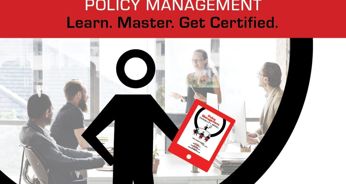 The Policy Management Capability Model