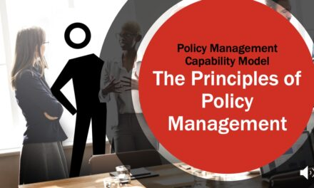 The Principles of Effective Policy Management