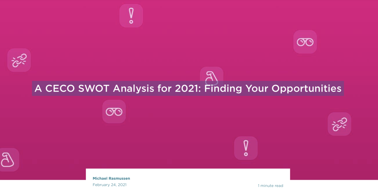 A CECO SWOT Analysis for 2021: Finding Your Opportunities