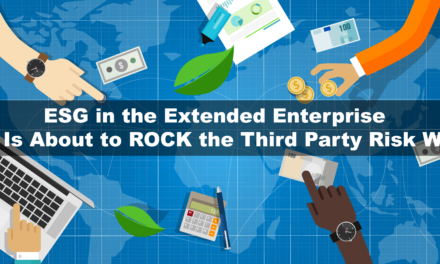 ESG is about to ROCK the Third-Party Risk World
