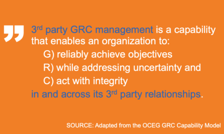 Defining Third-Party GRC Management